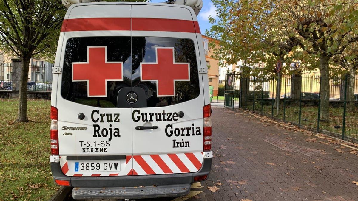 Residencia de la Cruz Roja en Irún