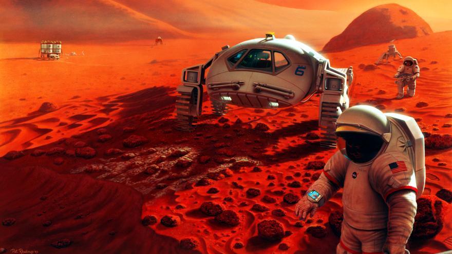 Una vez que la gente llegue allí, Marte se contaminará con vida terrestre