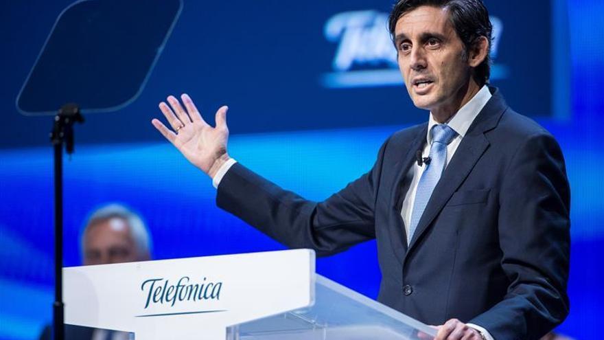 Telefónica celebra el martes un consejo marcado por su evolución en Bolsa