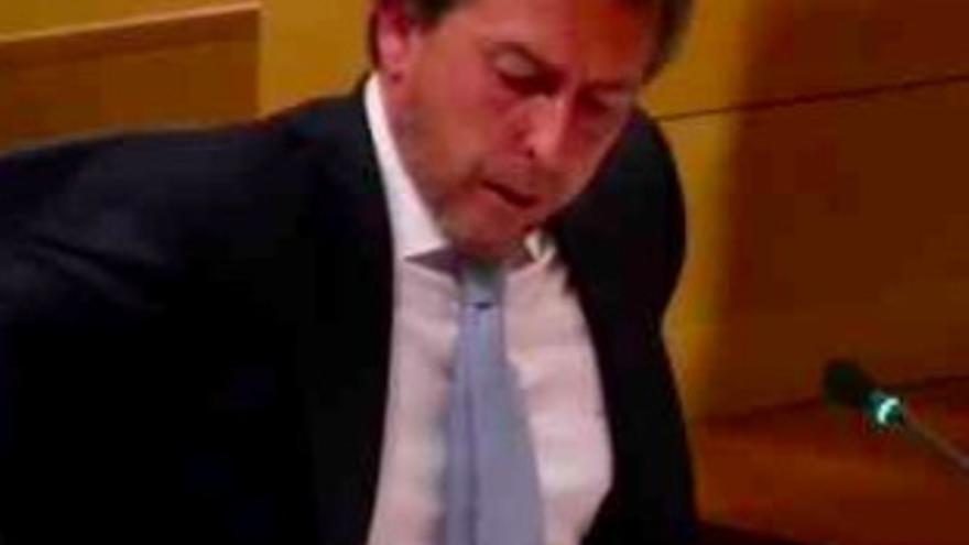 el presidente del Partido Popular en Boadilla del Monte, Raimúndo Hérraiz