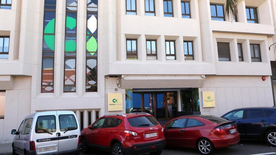 Sede de Televisión Canaria en Las Palmas de Gran Canaria. (ALEJANDRO RAMOS)