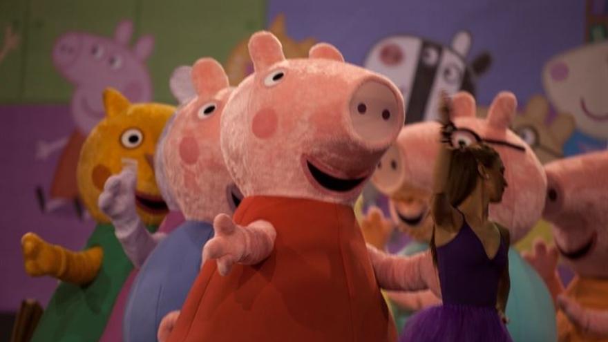 El espect culo de peppa pig llega a tenerife en octubre for Espectaculo peppa pig uruguay