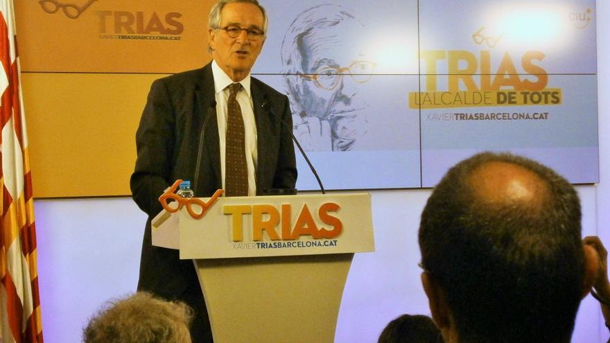 Trias, a la seu nacional de CDC, presenta la campanya per les municipals 2015 / JORDI MOLINA
