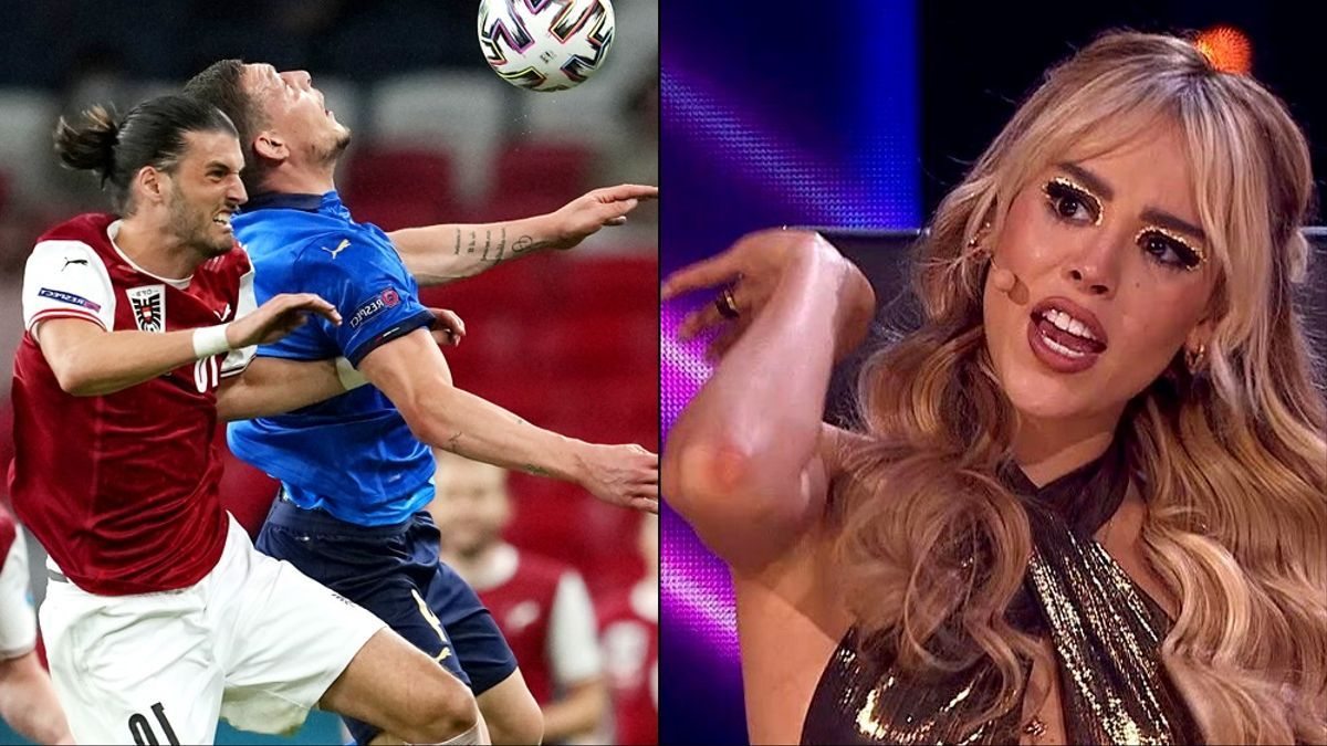 Italia-Austria / Danna Paola en 'Top Star'
