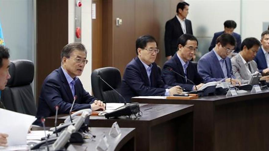 Seúl y Tokio condenan el test norcoreano y solicitan una nueva reunión de la ONU