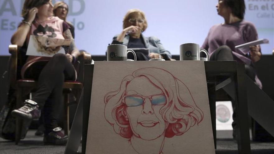 Manuela Carmena: Ojalá este domingo regrese la decencia a Madrid