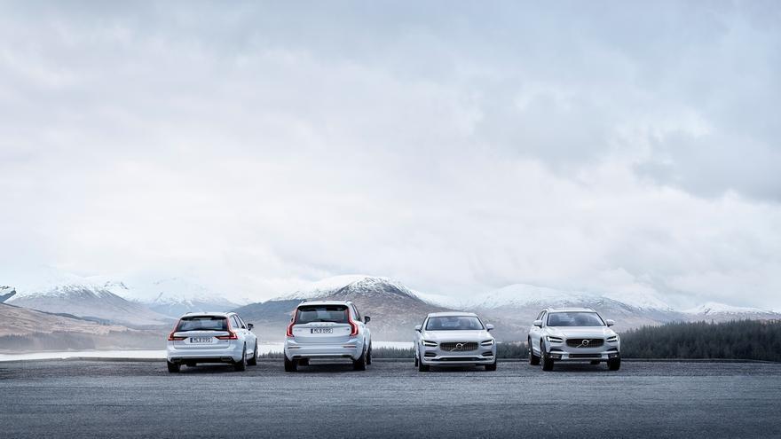 La serie 90 de Volvo Cars actualiza los sistemas de seguridad, motores y conectividad