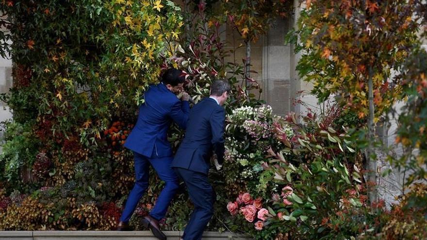 Empiezan a llegar a Windsor los invitados a la boda de la princesa Eugenia