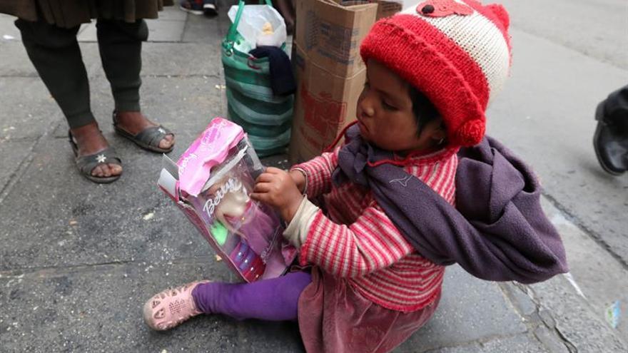 Un alivio navideño para la pobreza indígena en Bolivia