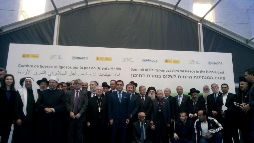Líderes religiosos de Oriente Medio piden en Madrid una paz digna para israelíes y palestinos