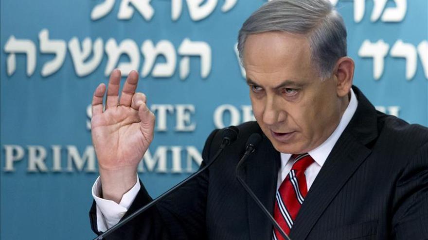 Netanyahu ve inevitables las víctimas civiles y culpa a Hamás de la masacre