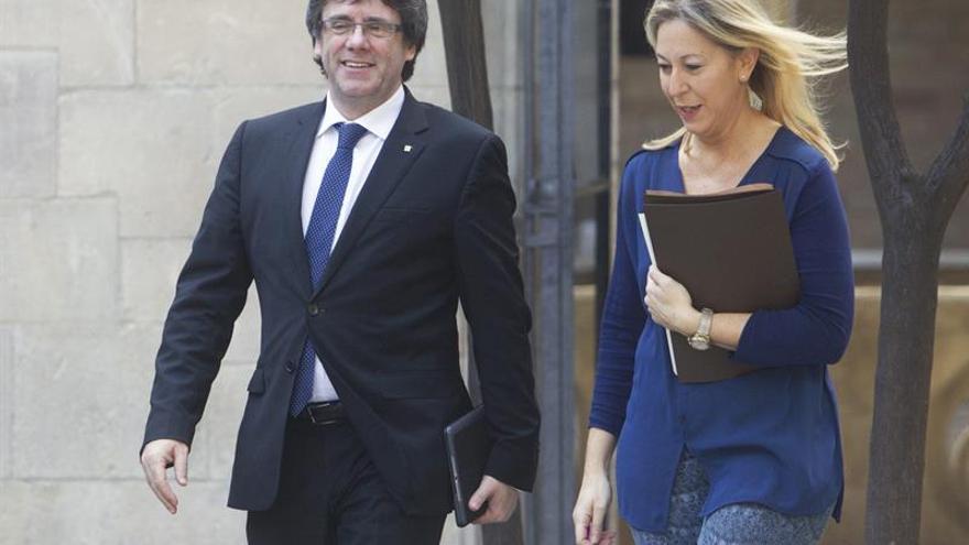 Puigdemont arropará en Palau a Mas, Ortega y Rigau justo antes del juicio