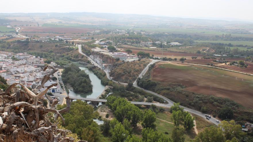 Las vistas desde el mirador de Abades.