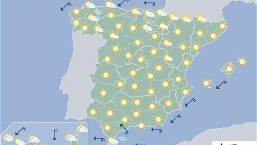 Suben las temperaturas, en especial en Cantábrico, alto Ebro y Navarra