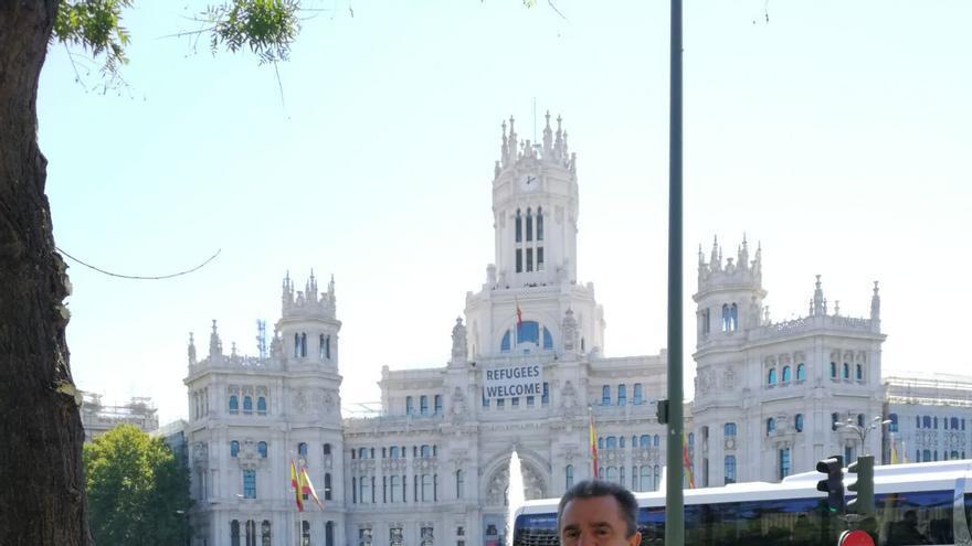 El candidato 'sanchista' a dirigir el PSOE de Madrid, José Manuel Franco.
