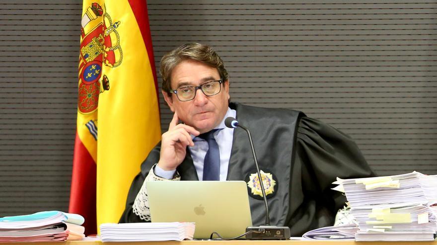 Salvador Alba, en el juicio del caso Faycán. (ALEJANDRO RAMOS)