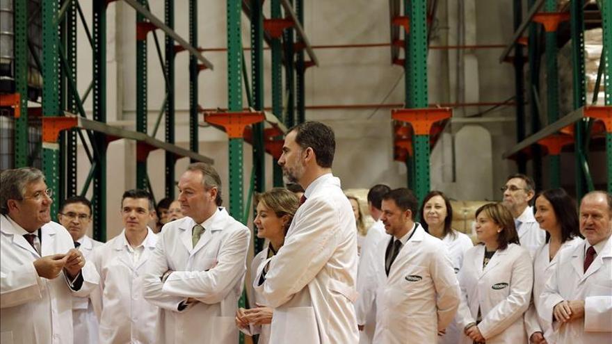 El rey desea que el cooperativismo español siga escribiendo páginas de éxito