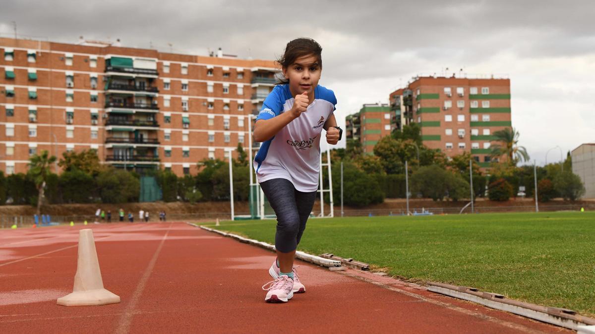 Joven atleta en El Fontanar