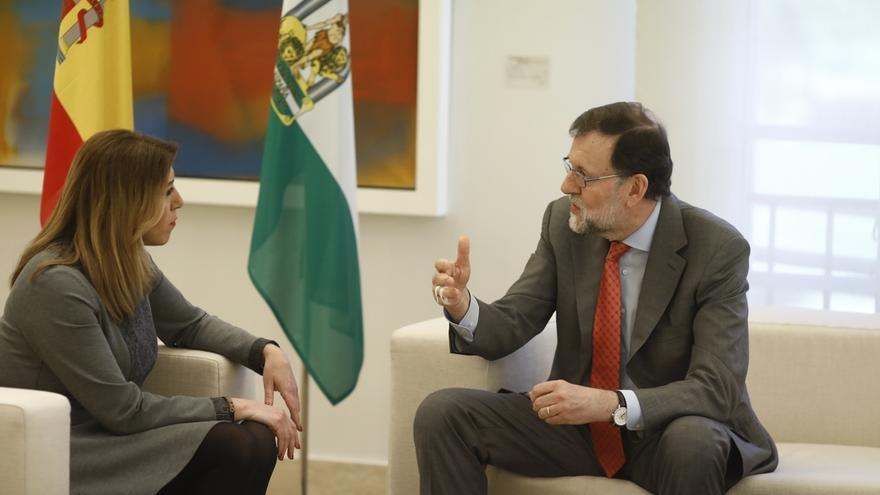 """(Ampl.) Rajoy convocará el CPFF sobre financiación autonómica """"de manera inminente"""", según Susana Díaz"""