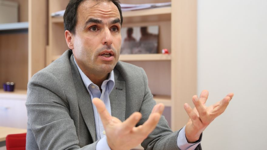 Javier Ramos, nuevo rector de la Universidad Rey Juan Carlos. / Marta Jara