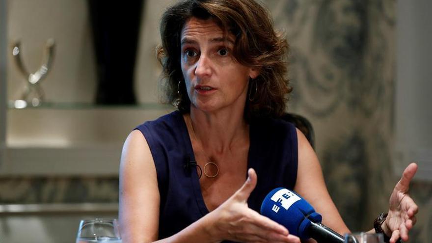 """Teresa Ribera: """"El calentamiento global ya incide en el flujo migratorio"""""""