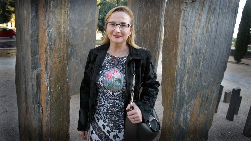 Rosa Garrote, presidenta de la Asociación de Víctimas del Metro 3 de Julio (AVM3J)