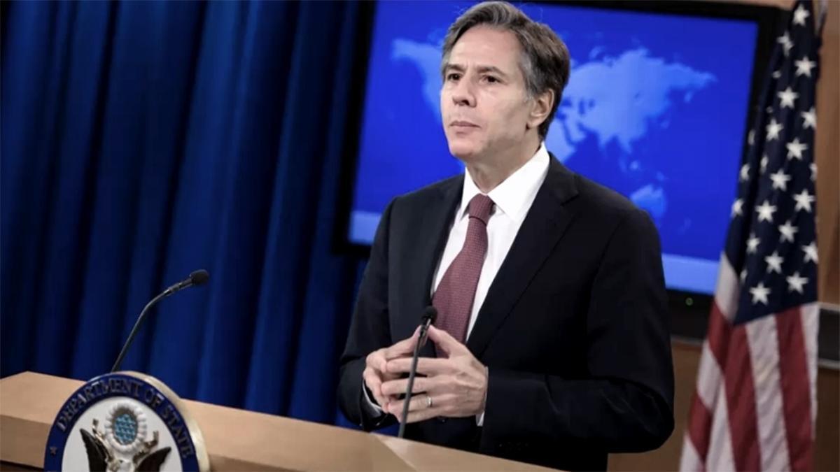 """El secretario de Estado, Antony Blinken aseguró que su país se está """"moviendo lo más rápido posible"""" para poder ayudar con vacunas."""
