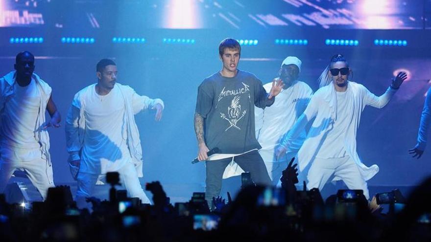 Justin Bieber, el más escuchado de Spotify España en 2016