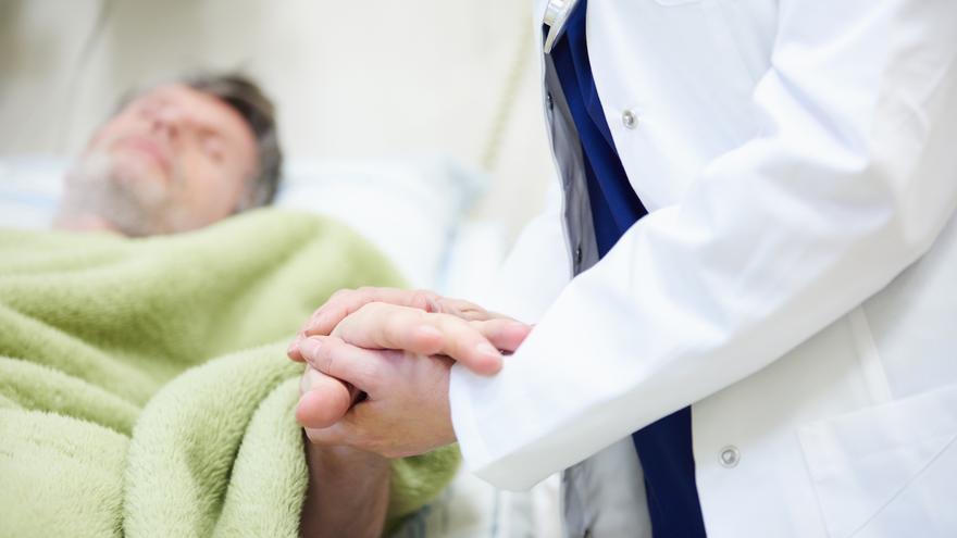 Paciente en un caso de eutanasia