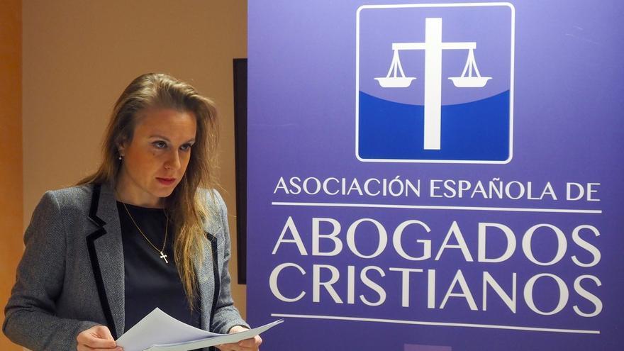 La presidenta de la Asociación Abogados Cristianos, Polonia Castellanos.