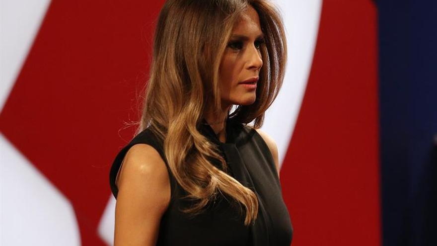 """Melania Trump promete ser una """"defensora de las mujeres y niños"""" como primera dama"""