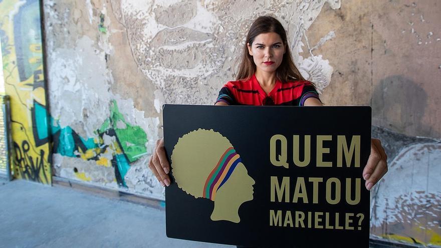 Acto buscando justicia para el asesinato de Marielle Franco. © Fernando Figueiredo