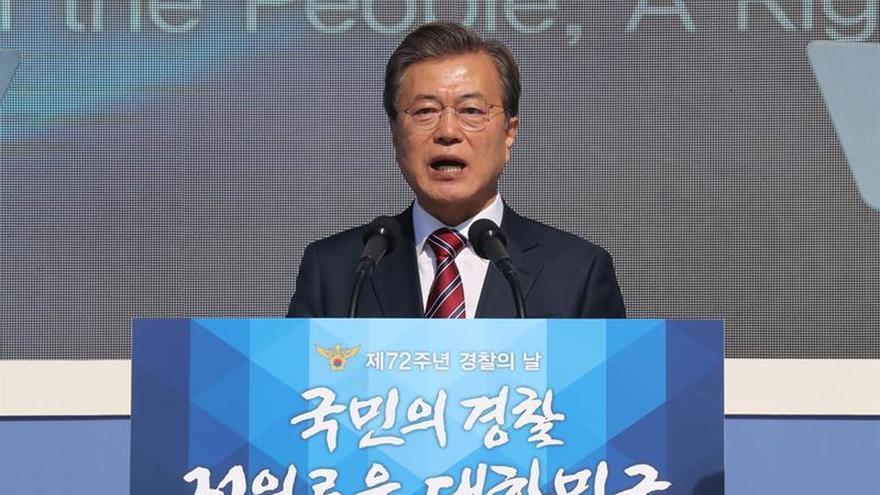 Seúl aprueba nuevas sanciones contra Pyongyang antes de la llega de Trump