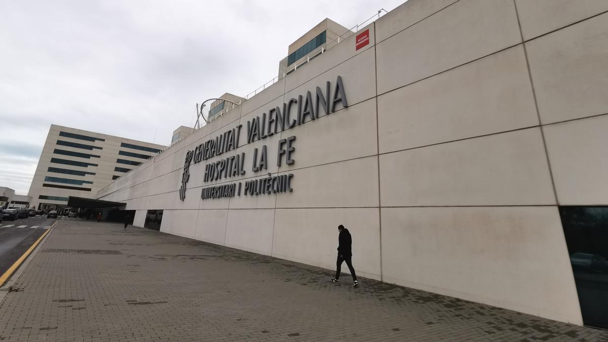 Vista del hospital La Fe de Valencia. / Jesús Císcar