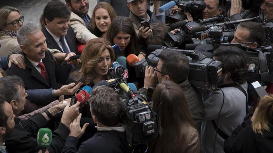 Susana Díaz: A mi cuando fallece alguien no me sale otra cosa que el respeto