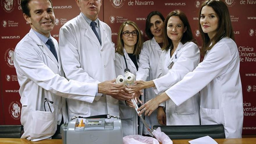 """El primer paciente español con corazón artificial reconoce su """"suerte"""" y """"ganas"""""""