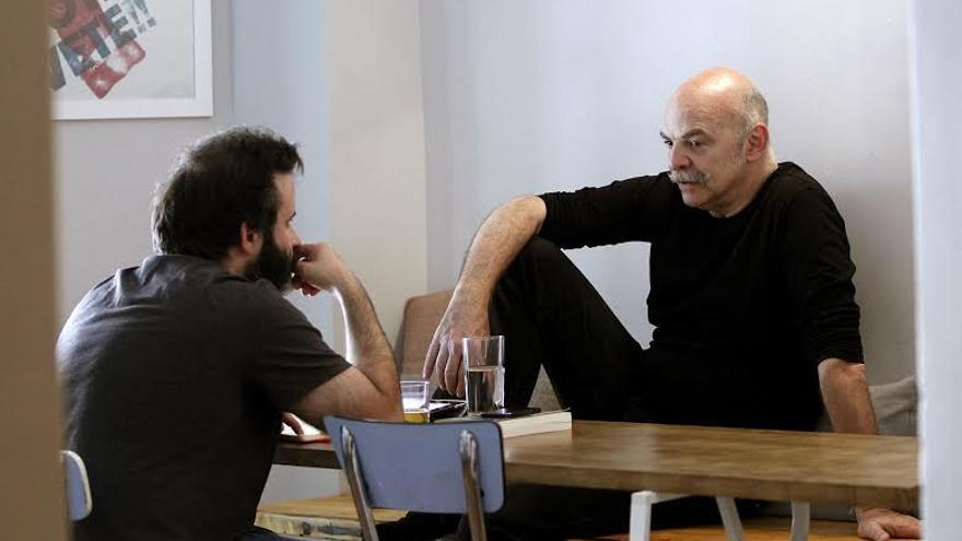 Edu Galán y Martín Caparros | Marta Jara para eldiario.es