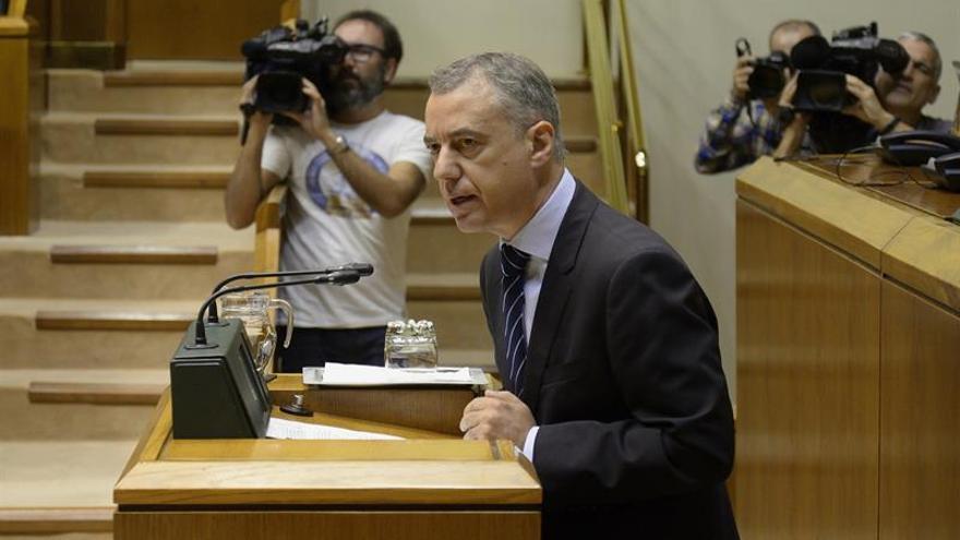 "Urkullu desea que la ""oportunidad al diálogo"" de Puigdemont sea aprovechada"