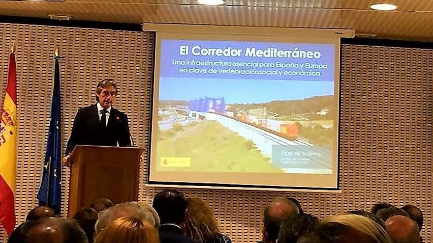 El ministro Íñigo de la Serna reunido con empresarios en Castellón