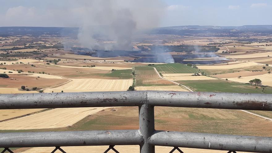 Incendio en Córcoles