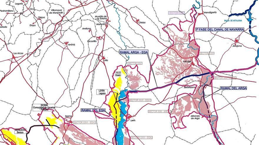 Las áreas regables del PSIS 'Ampliación de la 1ª fase del Canal de Navarra' se incrementan en 3.008 hectáreas