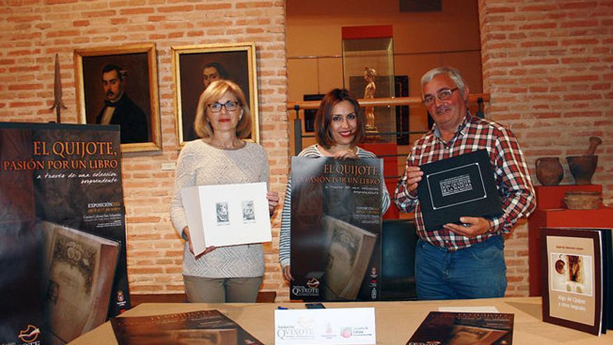 Presentación de 'El Quijote, la pasión por un libro' / Ayuntamiento de La Roda