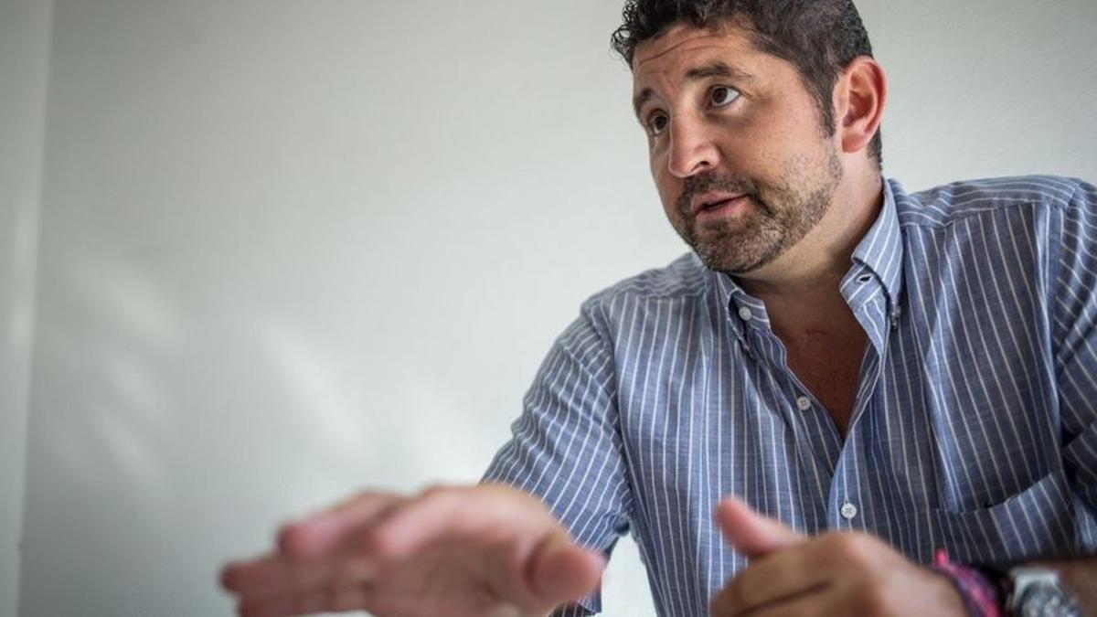 Roberto Ucelay, presidente del Círculo de Empresarios y Profesionales del Sur de Tenerife (CEST)