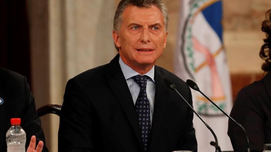 """Macri: """"lo que está pasando en Venezuela no es democracia"""""""