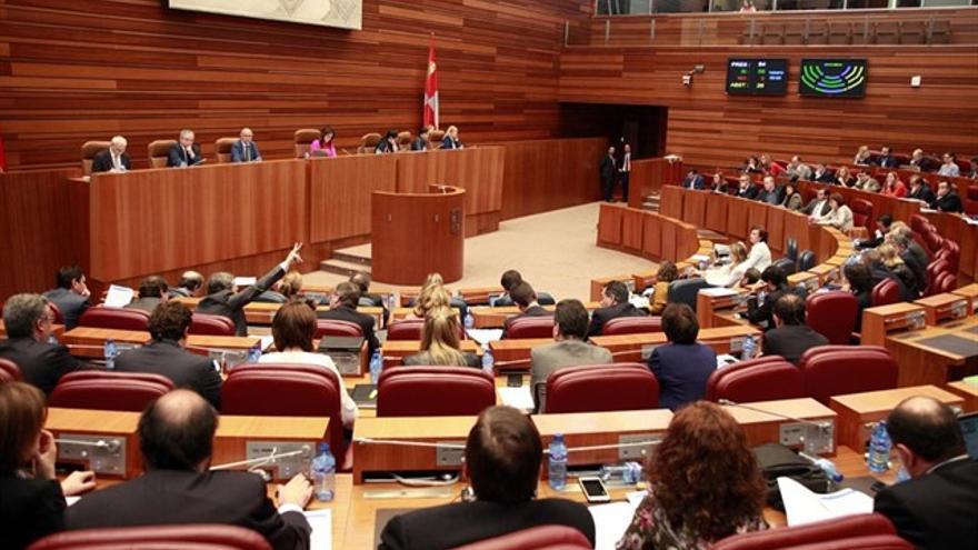 Imagen de archivo de un Pleno de las Cortes de Castilla y León.