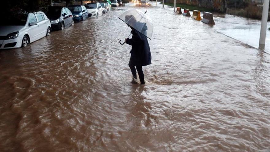 El temporal de lluvia remite en Valencia