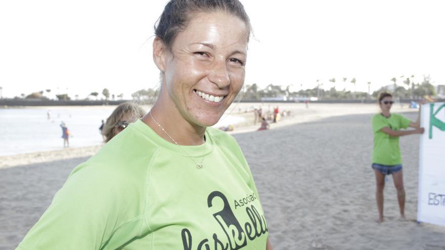 Myriam Barros, portavoz de Las Kellys