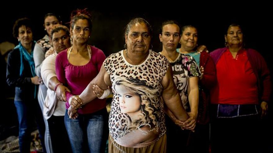 Parte del elenco de Fuente Ovejuna, el nuevo montaje de la TNT/ FOTO: Félix Vázquez
