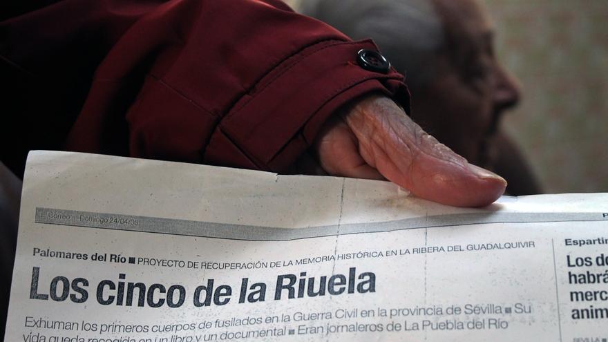 'Los Cinco de la Rihuela'. | JUAN MIGUEL BAQUERO