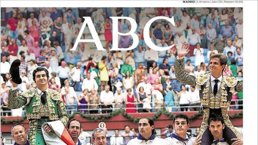 De las portadas del día (14/08/2012) #9